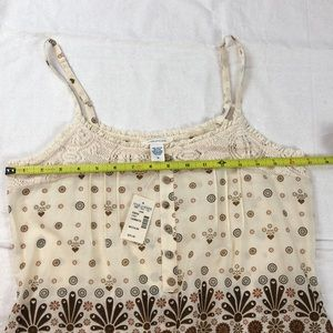 Maurices Tops - Maurice's Heart Flower Tank Shirt NWT S